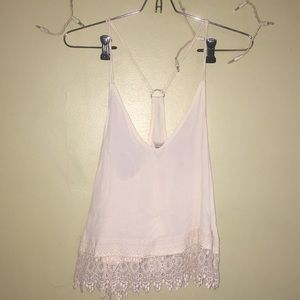 Urban outfitters white top.